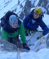 Winter climbing for young people…RGS Style