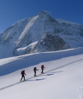 Coaching ski touring in and around Arolla